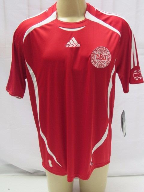c90054de2a Antiga Camisa De Futebol Da Seleção Da Dinamarca adidas - R  185