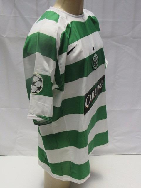 new arrival 98d13 2e6f2 Antiga Camisa De Futebol Do Celtic Da Escócia - #25 Nakamura