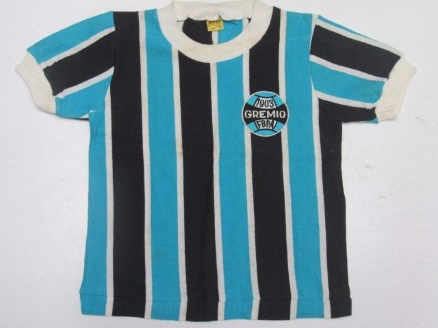 721ddd1ddf9c9 Antiga Camisa De Futebol Do Gremio - Marca Athleta Infantil - R  290 ...