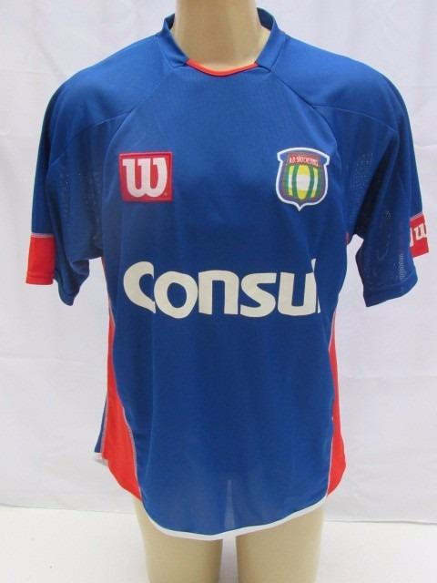 Antiga Camisa De Futebol Do São Caetano - Wilson -  10 - R  129 31f8baa7b379b