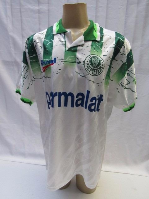 ca49ccef3b Antiga Camisa De Futebol Palmeiras  10 Rhumell Parmalat 1996 - R ...