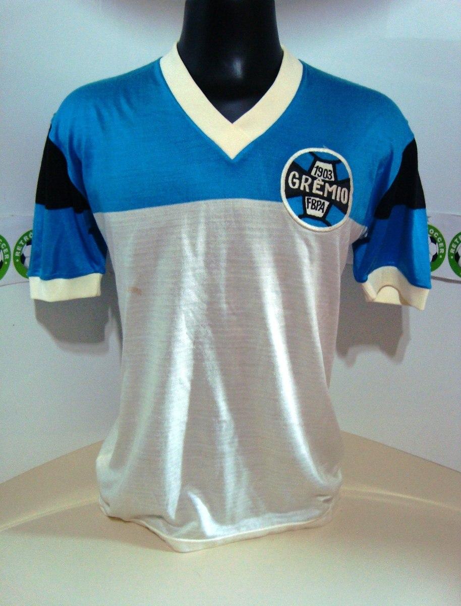 786fe293f5b31 Antiga Camisa Grêmio De Jogo Anos 70 -  4 - De Malha - R  999