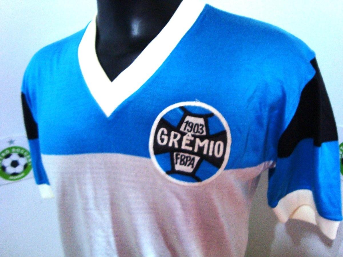 Antiga Camisa Grêmio De Jogo Anos 70 -  4 - De Malha - R  999 96556ad1e38be