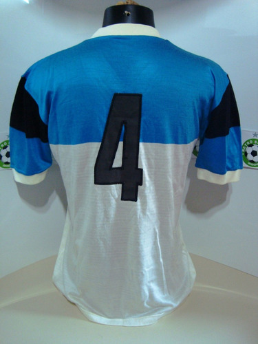 antiga camisa grêmio de jogo anos 70 -  #4 - de malha
