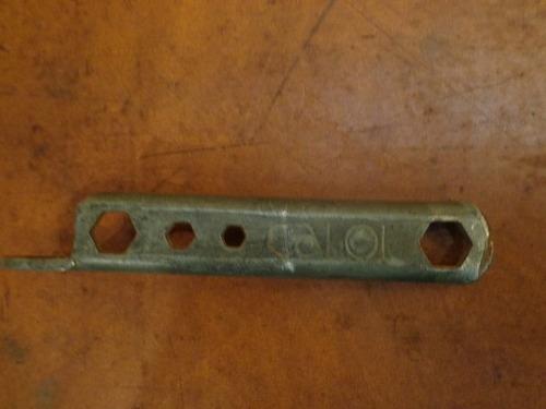 antiga chave de bicicleta caloi - r 1616