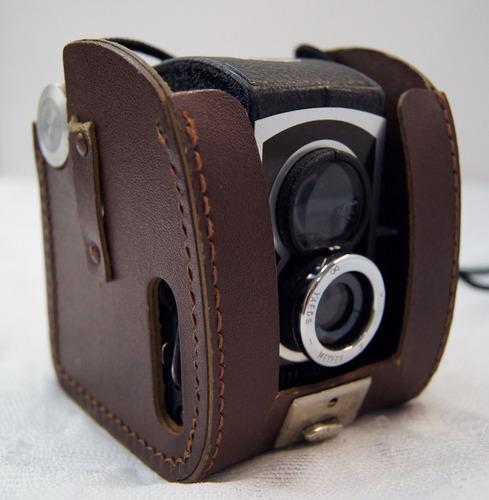 antiga câmera fotográfica ross ensign ful-vue super