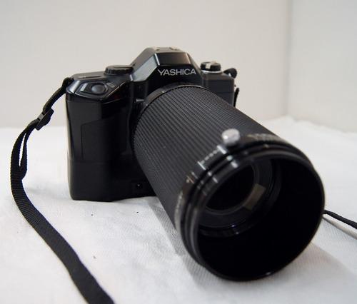 antiga câmera fotográfica yashica data back da -1 no estado