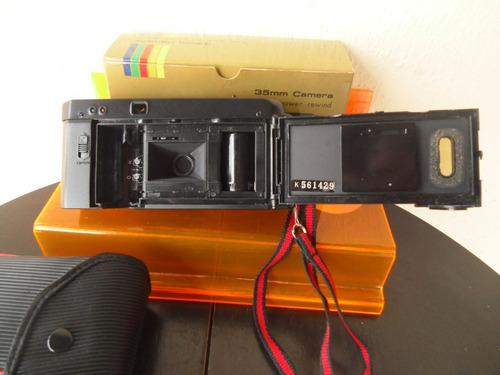 antiga câmera yashica md-35 nova na caixa (precisa revisão)