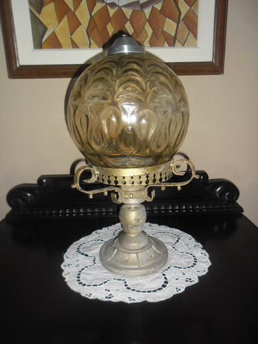 antiga cupula globo antigo -vidrao