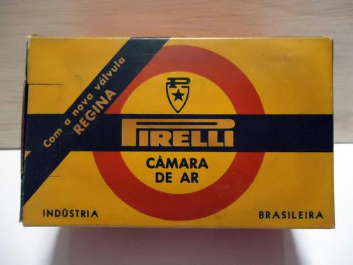 antiga e exclusiva camara de ar pirelli p/ bicicletas