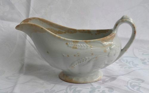 antiga e rara molheira porcelana johnson bros 1900 - 1913