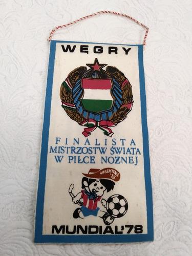 antiga flamula mundial 1978 argentina