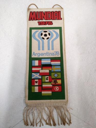antiga flamula oficial fifa mundial de 1978 argentina