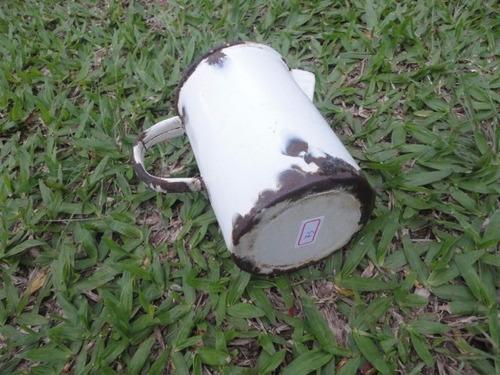 antiga jarra bule esmaltado  alemão germany 01