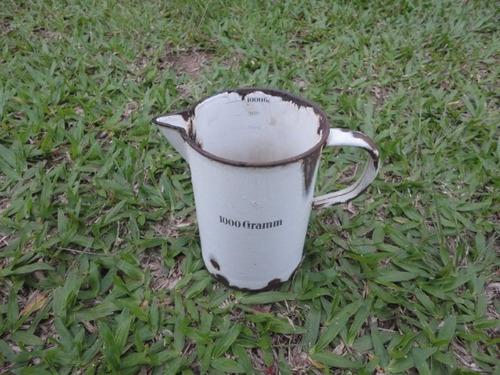 antiga jarra bule esmaltado  alemão germany