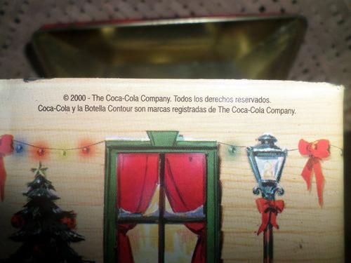 antiga lata da coca cola