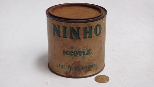 antiga lata de leite ninho nestle