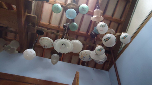 antiga luminária teto