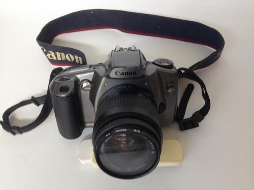 antiga maquina camera fotografica canon eos rebel g 2