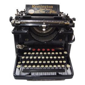 Antiga Máquina De Escrever Datilografia Remington