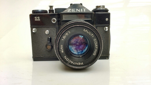 antiga máquina fotográfica zenit
