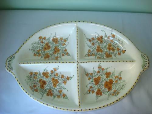 antiga petisqueira em porcelana portuguesa