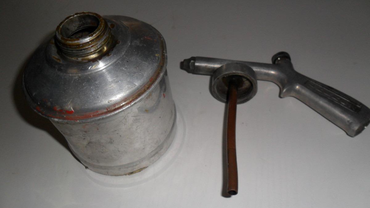 Antiga pistola de pintura em alum nio e cobre r 100 00 - Pintura de aluminio ...