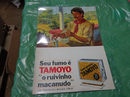antiga propaganda tamoyo o ruivinho macanudo década 70