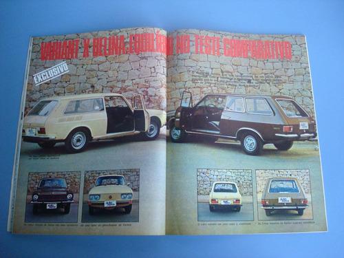 antiga revista auto esporte nº 152 junho 1977