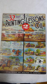 Antiga Revista Painting Lessons In Oil