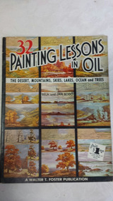 Antiga Revista Painting Lessons In Oil N32