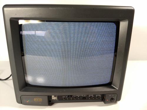antiga tv cce colorida tvp-105 retro game pc 10 polegadas