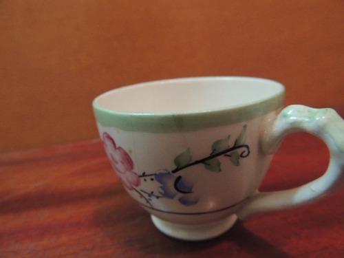 antiga xícara café porcelana inglesa empire england