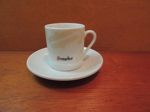 antiga xícara de café frangelico porcelana