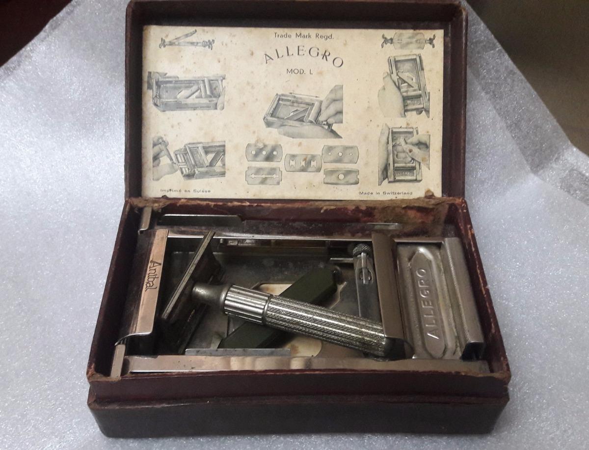 Antigo afiador su o para l minas de barbear allegro r for L allegro stampatello