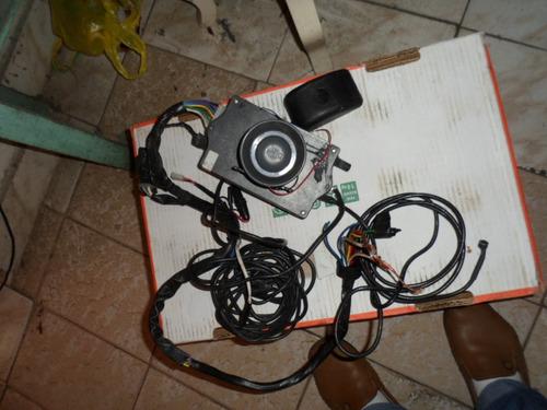 antigo alarme pra carro de sensor e buzina cirene