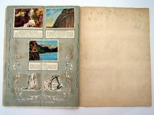 antigo album de figurinhas maravilhas do mundo completo