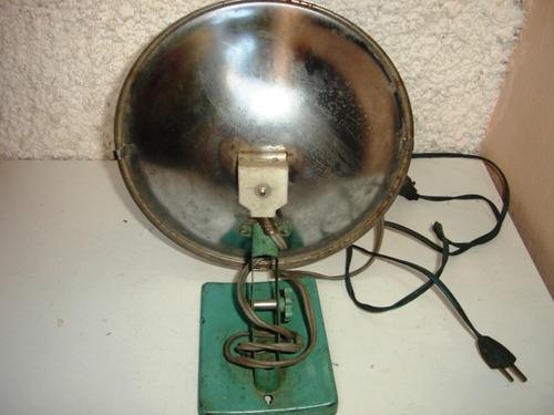 antigo aquecedor refletor de calor eletrico resistência faet