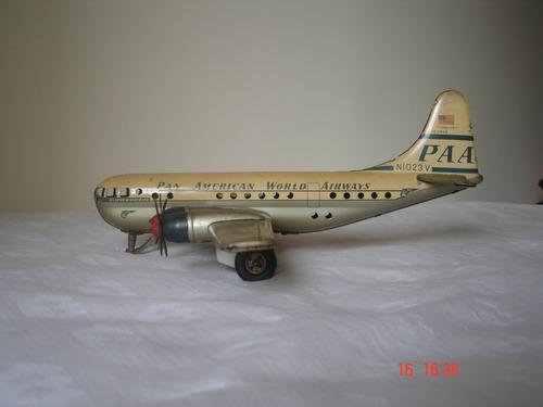 antigo avião panam - gama