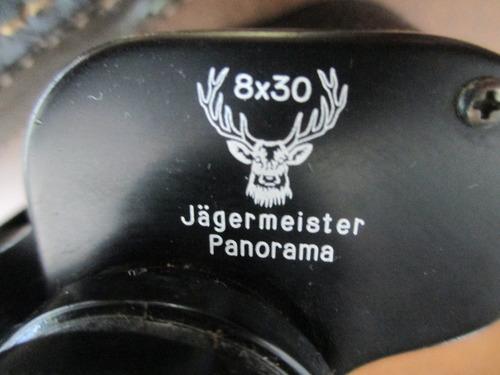 antigo binóculo alemão -jägermeister panorama - 8x30