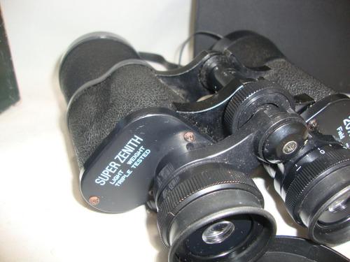 antigo binoculo super zenith 20x50 caixa e bolsa