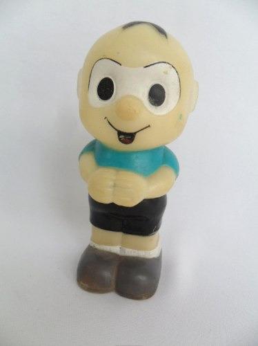 antigo boneco cebolinha borracha vinil da turma da mônica