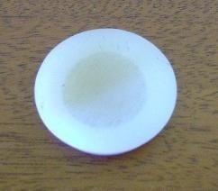 antigo botão puxador de 2 ( duas ) camadas década 80