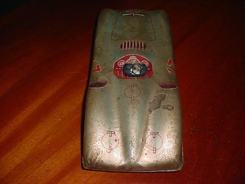 antigo brinquedo estrela mercedes benz fangio anos 50 raro