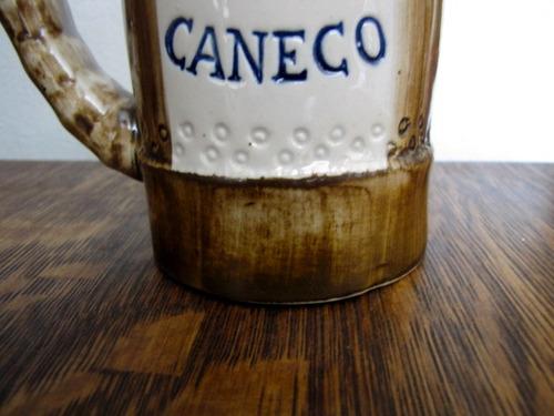 antigo caneco de chop decorativo porcelana #2383