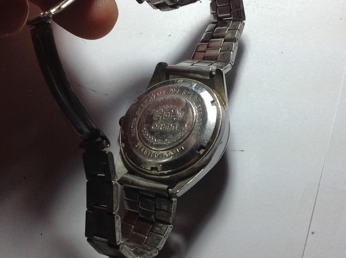 8a76292d5c2 Carregando zoom... 4 relógio de pulso antigo de coleção automatic orient