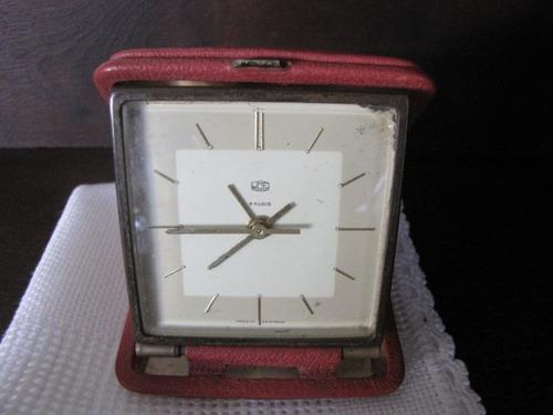 antigo despertador germany 5 rubis #1404