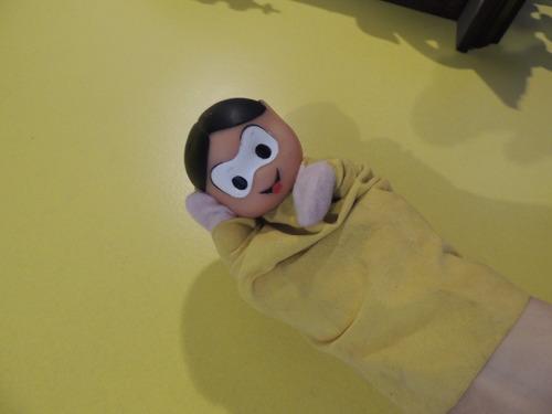 antigo fantoche marionete magali da turma da mônica