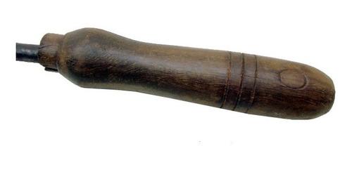antigo ferro marcador de gado nº 0