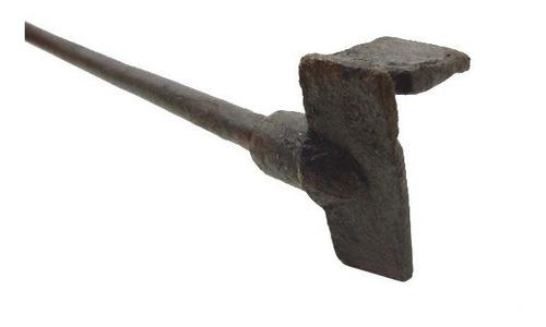 antigo ferro marcador de gado nº 7